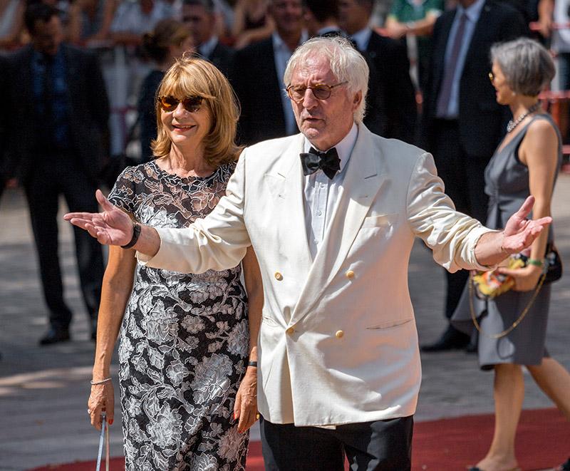 Günter Maria Halmer mit Ehefrau Claudia bei der Premiere der Bayreuther Festspiele 2018