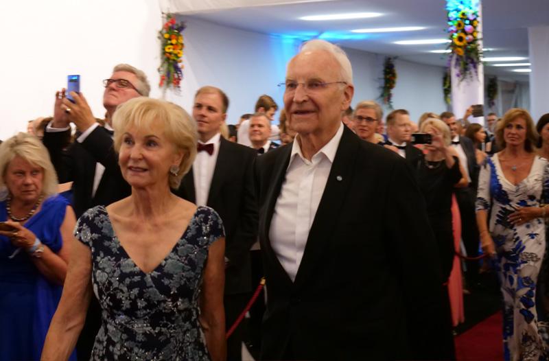 Staatsempfang 2019 | Bayreuther Festspiele | Richard's Magazin | Edmund Stoiber mit Ehefrau